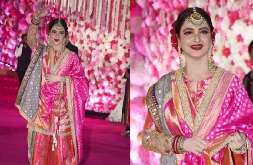 अजहर मोरानी की शादी में रेखा ने पहने ऐसे कपड़े, उनकी खूबसूरती के आगे फीकी पड़ी दुल्हन