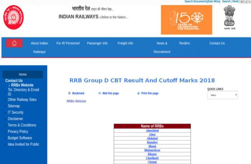 RRB Group D Result 2019 जल्द, जानें कितनी जा सकती है कटऑफ