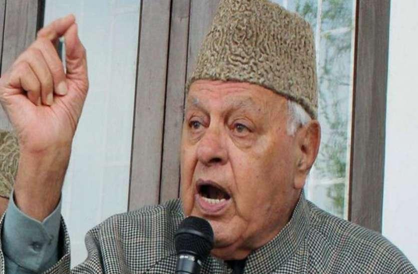कश्मीर के नेताओं वाले बयान पर बौखलाए फारूक अब्दुल्ला, बोले- हम नहीं, जितेंद्र सिंह जैसे लोग हैं पाकिस्तानी