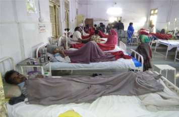 बदलता मौसम : लोगों को लगाने पड़ रहे अस्पताल के चक्कर