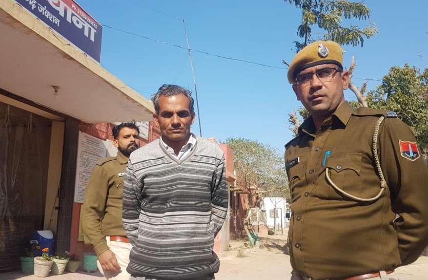 कलक्टर चैम्बर में तोडफ़ोड़ के आरोपित को जमानत पर बाहर आने से पहले ही प्रोडक्शन वारंट पर फिर किया गिरफ्तार