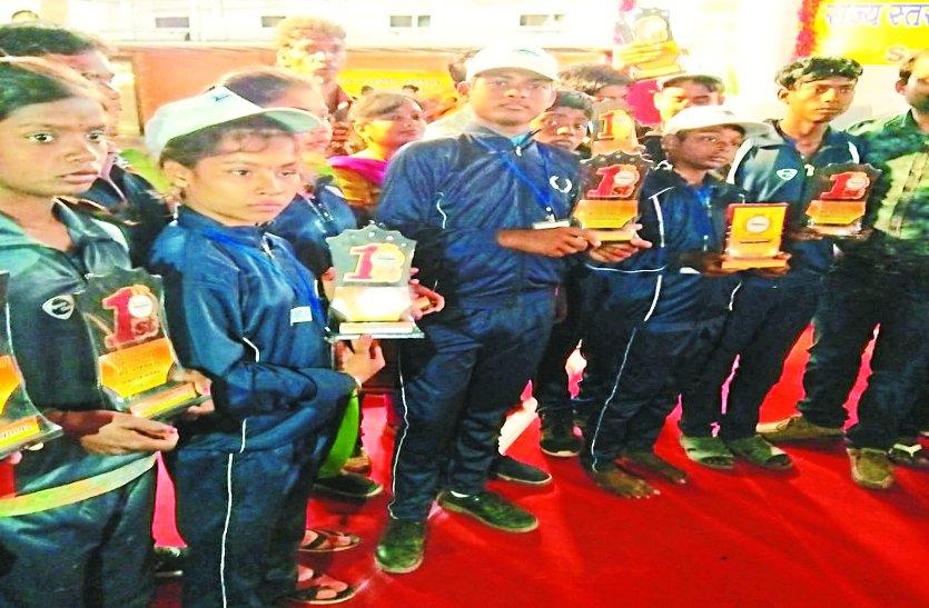 यहां के 11 दिव्यांग बच्चों ने मनवाया अपनी प्रतिभा का लोहा