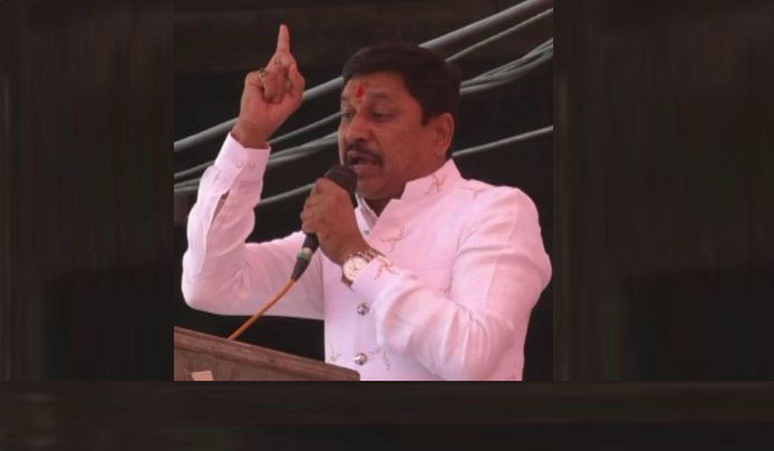 भाजपा विधायक के बिगड़े बोल-दिग्विजय सिंह सठिया गए, हम जब चाहें सरकार गिरा दें