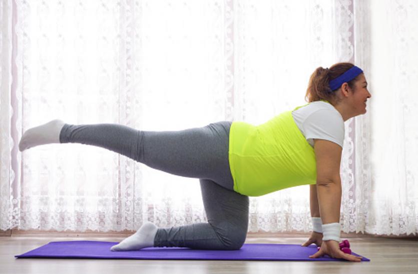 बढ़ते वजन से ताकत कम होना है बीमारी का संकेत