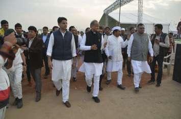 PICS...राहुल गांधी आएंगे अजमेर, गहलोत-पायलट ने यूं देखे इंतजाम