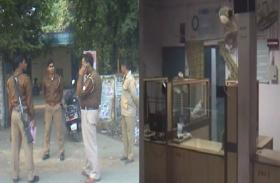 अलवर जिले के इस बैंक में 7 दिन में दूसरी बार घुसे चोर, लेकिन नहीं हो सके कामयाब, लोगों ने उठाई यह मांग