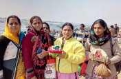 जयपुर के जत्थे ने प्रयाग राज में किया कुंभ स्नान