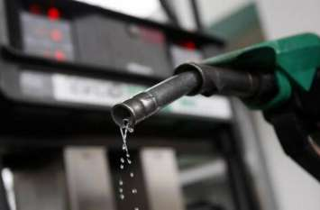पेट्रोल व डीजल की कीमतों में हुई बढ़ोत्तरी, पेट्रोल की कीमत में 1.40 और डीजल में 2.61 रुपये का हुआ इजाफा