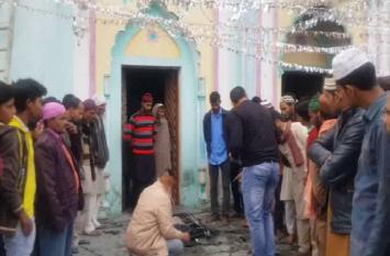 रामपुर की एक मस्जिद में आग से मचा हड़कंप, जांच में जुटी पुलिस