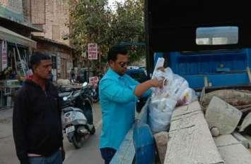 जोधपुर नगर निगम की अतिक्रमण व कैरी बैग के खिलाफ कार्रवाई