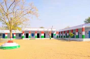 पूर्व छात्रों ने संवार दी सरकारी स्कूल की सूरत