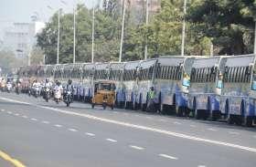 275 नइ बसों को मुख्यमंत्री ने दिखाई हरी झंडी