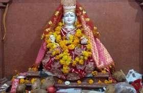 यहां मां नर्मदा जन्मोतसव पर इन मूर्तियों की मंदिर में की गई स्थापना....