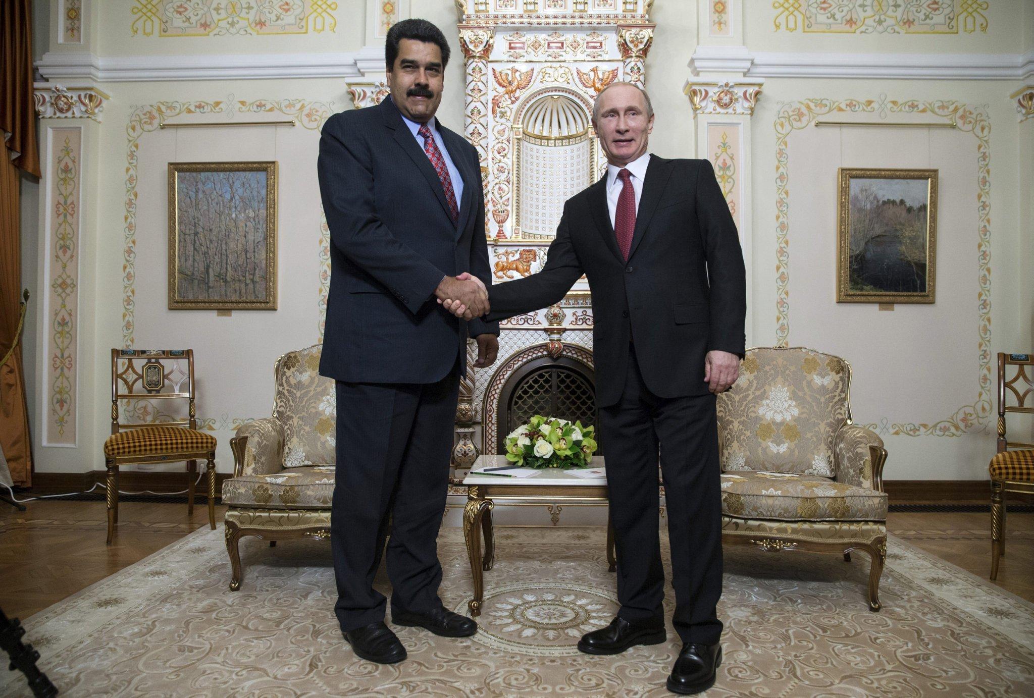 राष्ट्रपति मादुरो का सत्ता से बेदखल होना पुतिन की बड़ी हार