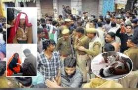 एक ही परिवार के दो पक्षों में लाठी-भाटा जंग, 9 लोगों के फूटे सिर, जयपुर रेफर
