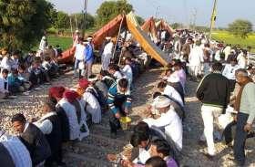 गुर्जर आंदोलन: रोडवेज बसों का संचालन पांचवें दिन भी बंद, रेलवे ने रद्द की पांच दर्जन से ज्यादा ट्रेनें