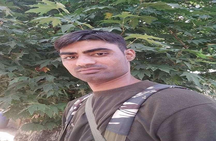 पुलवामा में आतंकी हमले में सुंदरावली का जवान शहीद