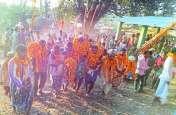 माओगढ़ में पहुंचे 24 परघना के देवी-देवता, 30 गांव के लोग हुए शामिल