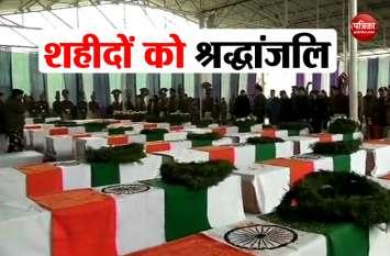 शहीदों के अन्तिम संस्कार में ये मंत्री होंगे शामिल, योगी सरकार ने सूची की जारी