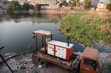 प्रदेश का इकलौता शहर जोधपुर जहां लाखों खर्च कर भूजल निकालते हैं, फिर बहाना पड़ता है नाले में
