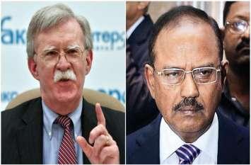 पुलवामा अटैक: अमरीका ने दोहराया समर्थन, NSA जॉन बोल्टन ने कहा- भारत को आत्मरक्षा का पूरा अधिकार
