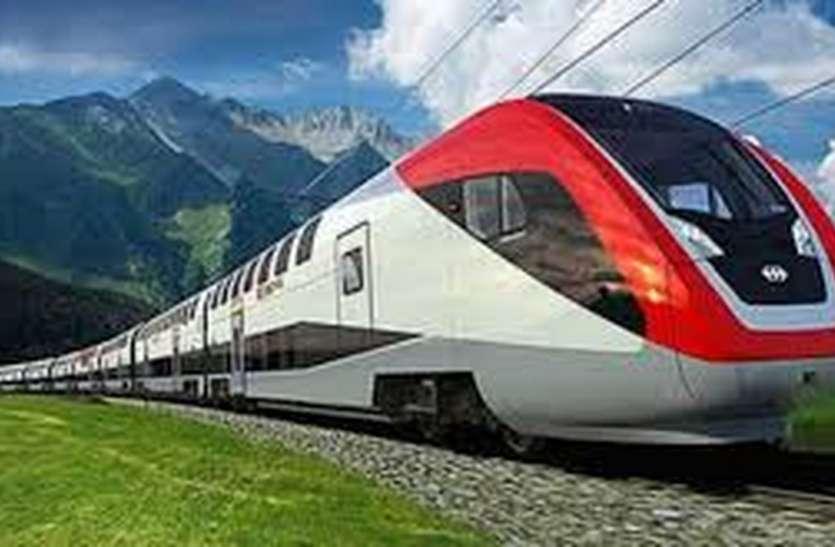 स्पीड ट्रायल: १२० की गति से उज्जैन नागदा के बीच दौड़ेगी ट्रेन