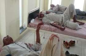 अलवर जिले में यहां दो पक्षों में हुआ झगड़ा, कई लोग घायल, मौके पर पहुंची पुलिस ने भी किया लाठीचार्ज
