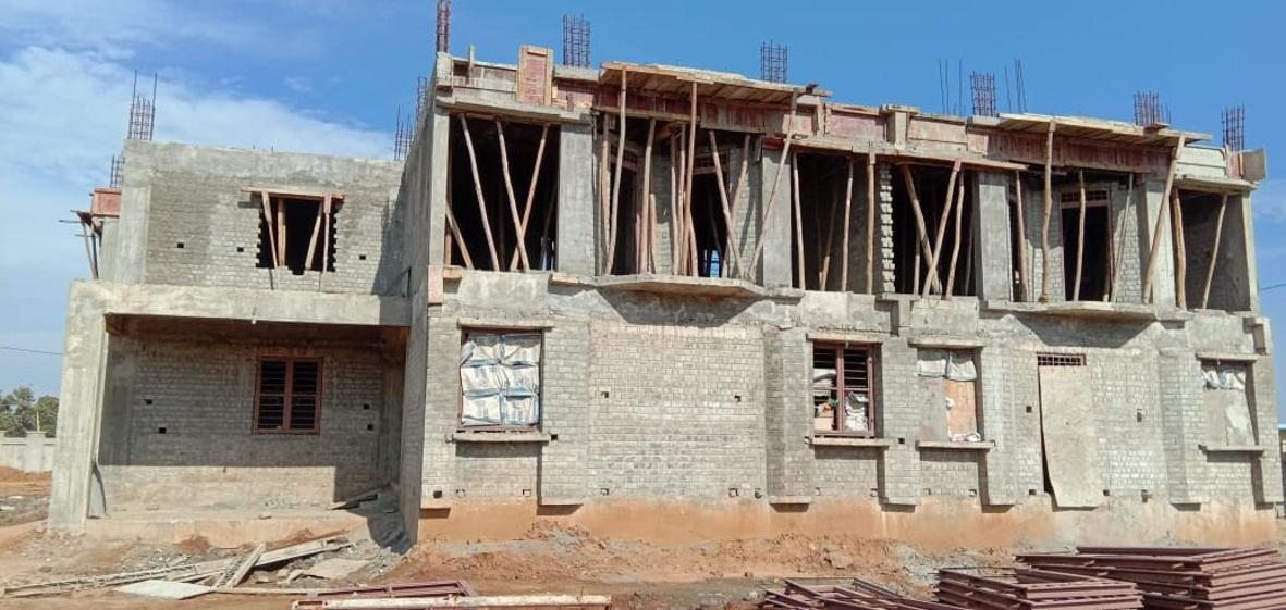 करोड़ों की लागत से बन रहे आईटीआई भवन में गुणवत्ता दरकिनार