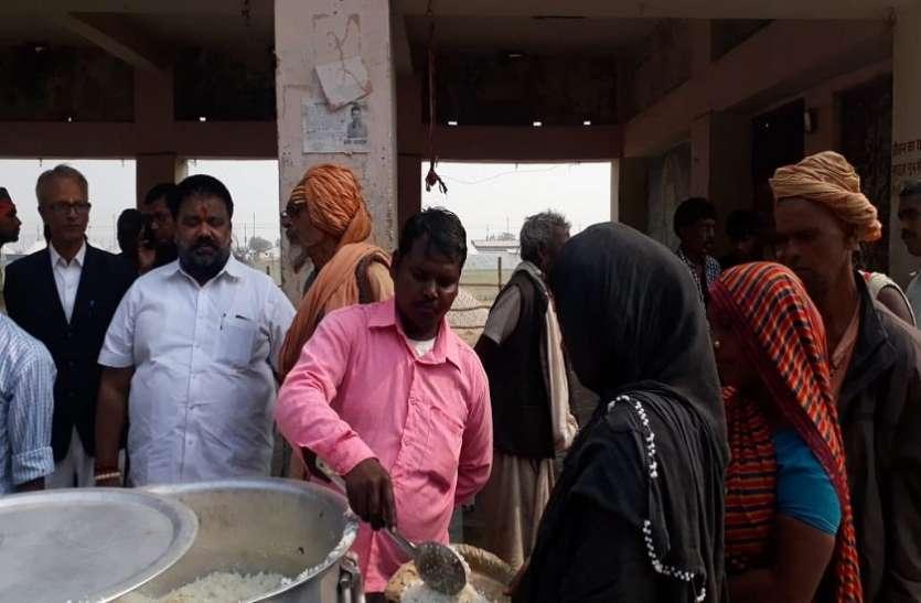कुंभ मेले के बाद भी संगम की रेती से नहीं लौटेगा कोई भूखा, इस शख्स ने लिया अनोखा संकल्प