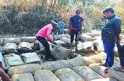उपार्जन केंद्रों में करोड़ों का धान है असुरक्षित, नहीं हो रहा बारिश से बचाने का इंतजाम