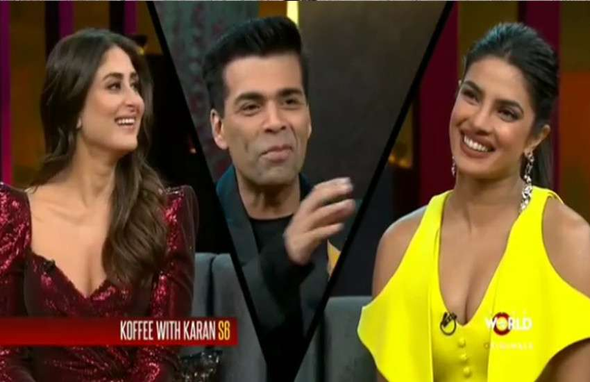Koffee With Karan 6 kareena priyanka talk about arjun malaika affair