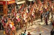 मरू महाेत्सव में राजस्थानी जहाज ने दिखाए करतब