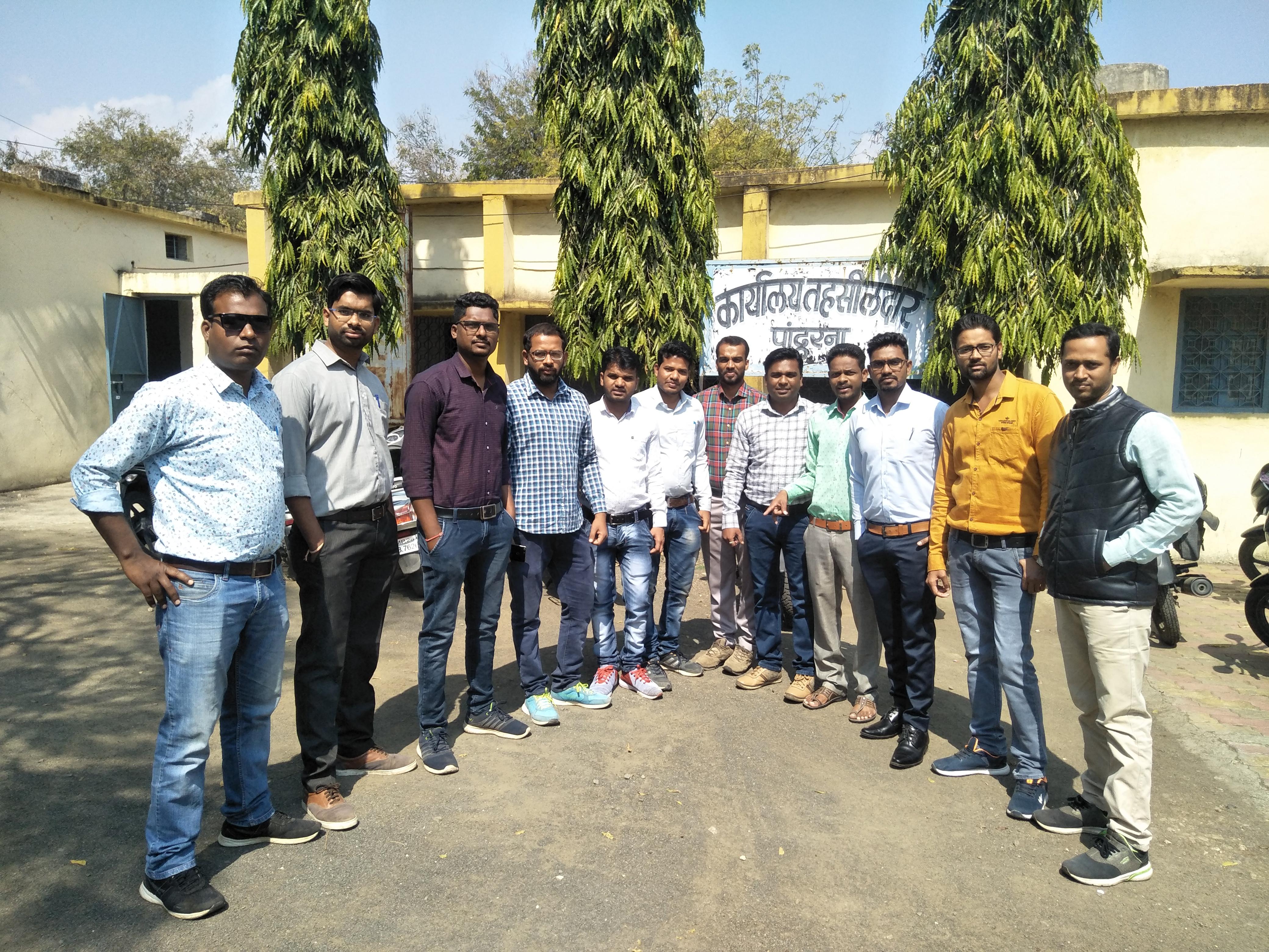इंजीनियरिंग कर छात्र बने पटवारी