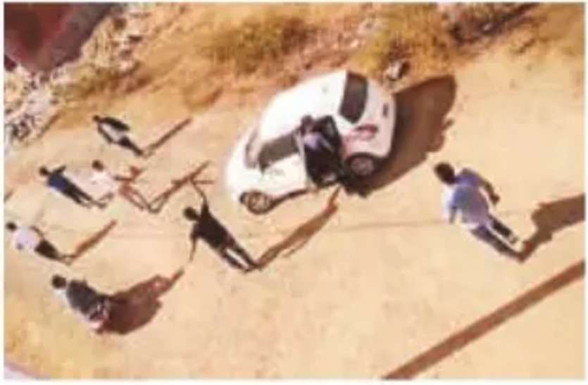पुलिस को घटना का वीडियो दिखाया, फिर भी दर्ज नहीं हुआ मामला
