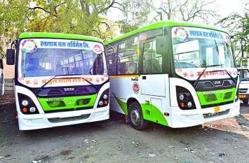जाने डीटीओ क्यों उड़ा रही परिवहन मंत्री के आदेश की धज्जियां: नहीं चल रही सिटी बसें