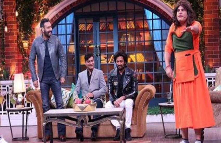 the kapil sharma show 17 february episode ajay devgn insult kapil