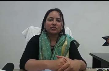 विकास की धारा को अन्तिम छोर तक बैठे व्यक्ति तक पहुचाये जाने की प्राथमिकता होगी - जिलाधिकारी नेहा शर्मा