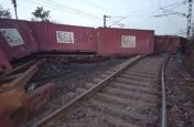 मालगाड़ी के 23 डिब्बे बेपटरी,इन ट्रेनों का संचालन हुआ प्रभावित, कई का का परिचालन रद्य तो कुछ का मार्ग बदला