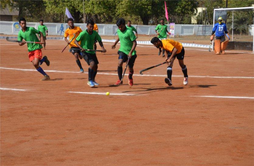 हॉकी टूर्नामेंट में नागपुर रेलवे ने सागर को 9-1 से दी मात