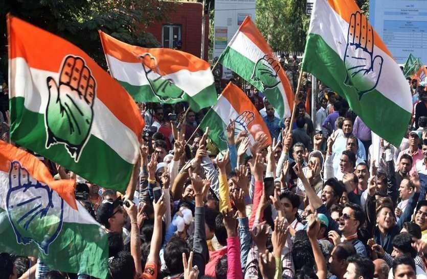 लोकसभा चुनाव के लिए कांग्रेस कार्यकर्ताओं के दिल्ली में चल रहे साक्षात्कार