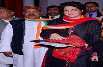 प्रियंका गांधी से मीटिंग के बाद कार्यकर्ताओं का बढ़ा उत्साह