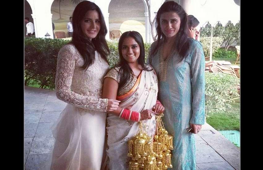 Katrina Kaif with salman khan sister