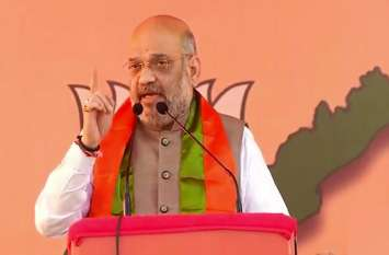 पुलवामा के बहाने अमित शाह का कांग्रेस पर हमला, नेहरू की वजह से भारत में कश्मीर समस्या