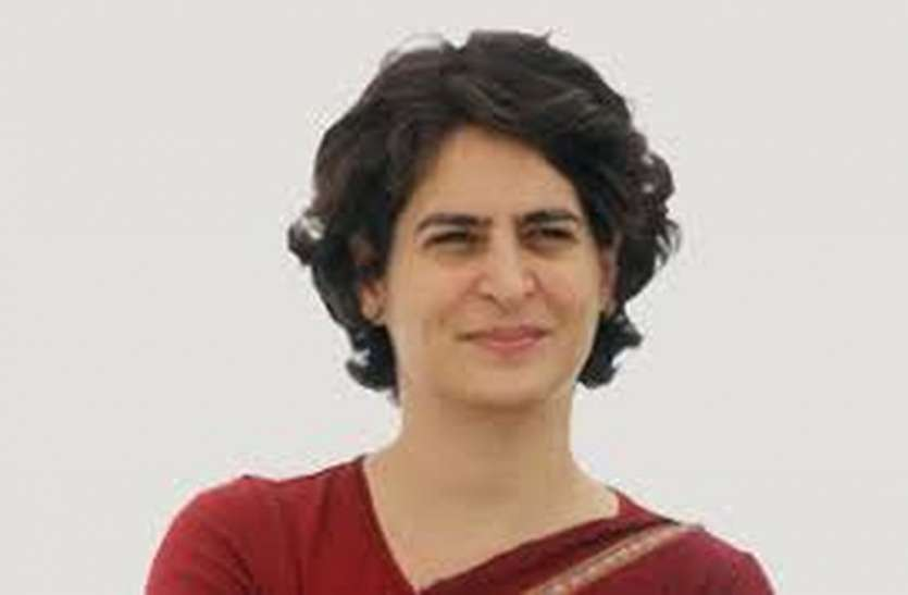 प्रियंका गांधी के खिलाफ सोशल मीडिया पर की आपत्तिजनक टिप्पणी, कांग्रेस कार्यकर्ताओं में आक्रोश