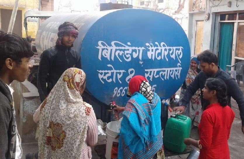गर्मी आते ही ग्रामीण क्षेत्रों में होगी पानी की जद्दोजहद
