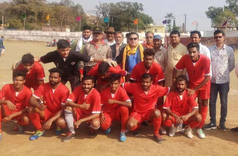 अंतर्राज्यीय फुटबाल प्रतियोगिता: एमपी पुलिस और कोरबा सेमीफाइनल में, पेनाल्टी शूट में फैसला