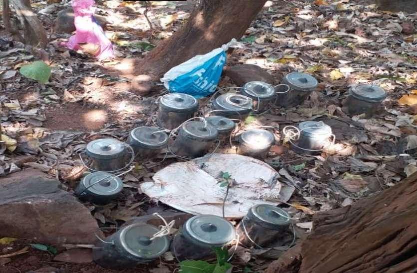 झारखंड: नक्सलियों के खिलाफ एसएसबी-पुलिस की संयुक्त कार्रवाई, 17 IEDs और 200 से ज्यादा डेटोनेटर्स बरामद