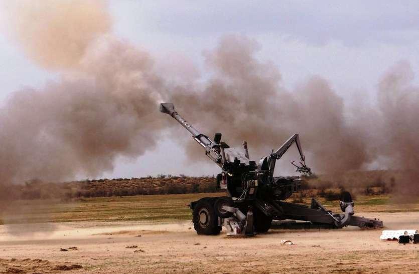 बोफोर्स के साथ धनुष तोप से भारत-पाक बॉर्डर पर सेना की पावर होगी डबल