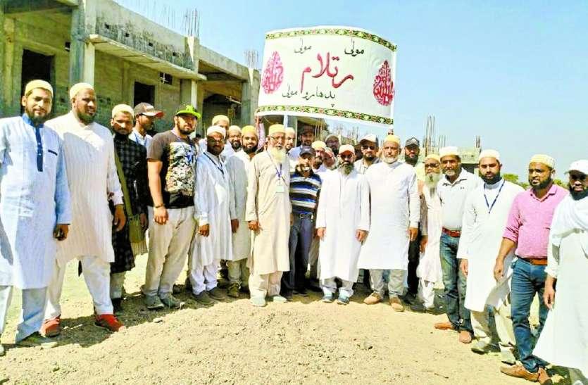 डॉ. सैय्यदना साहब के दीदार का जोश: धर्मगुरु के दीदार के लिए १०० समाजजन पैदल थांदला रवाना