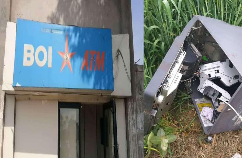 Big News: एटीएम उखाड़कर ले गए चोर, लाखों रुपयों से भरी थी मशीन
